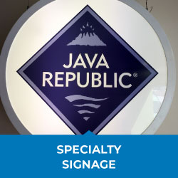 specialty signage